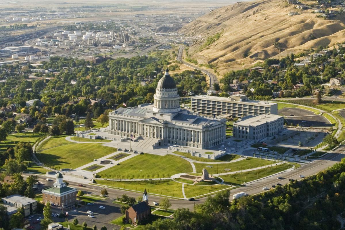 Copy of The Utah State Capitol