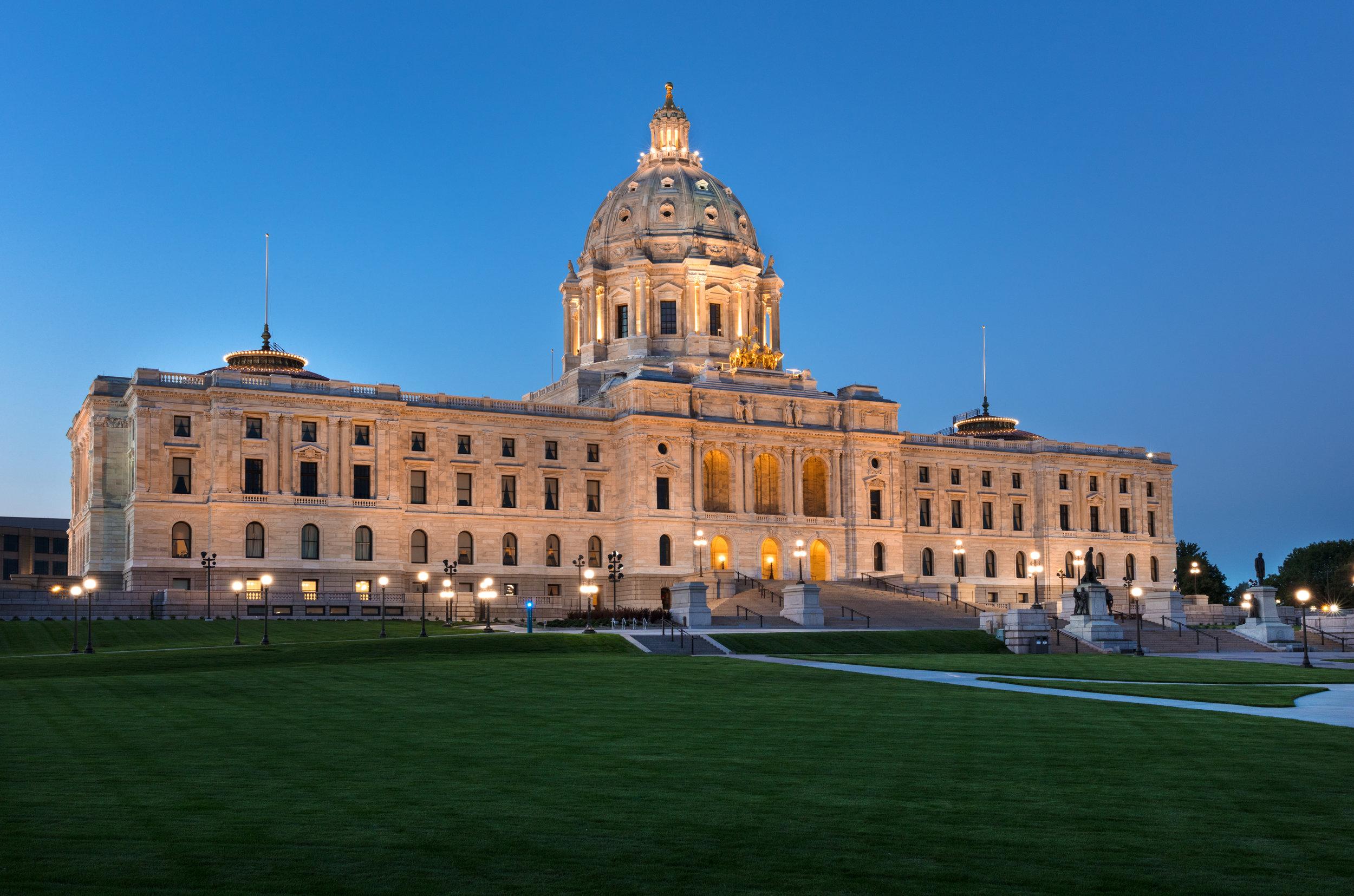 Architect: Minnesota State Capitol