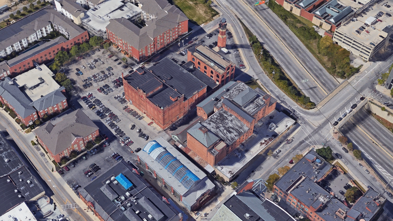 The old Hoster Brewery/Wasserstrom site, which is soon to be repurposed as a mixed-use development