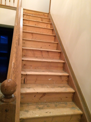 Diy Stair Makeover Carpet To Hardwood Schooley Caldwell