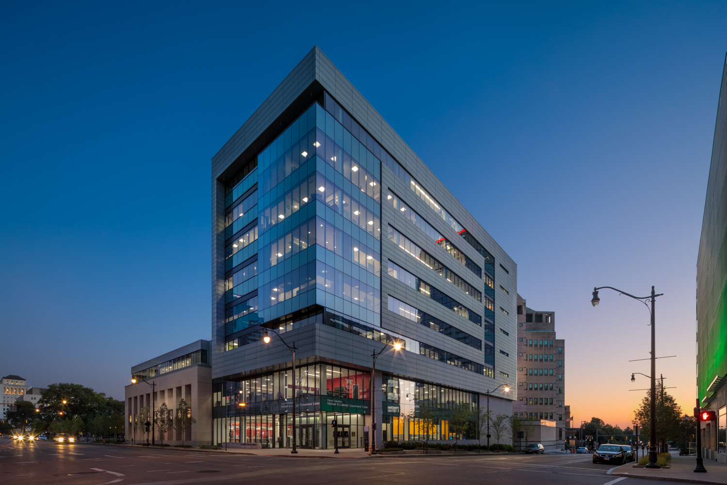 Project Manager: Michael B. Coleman Governmental Center