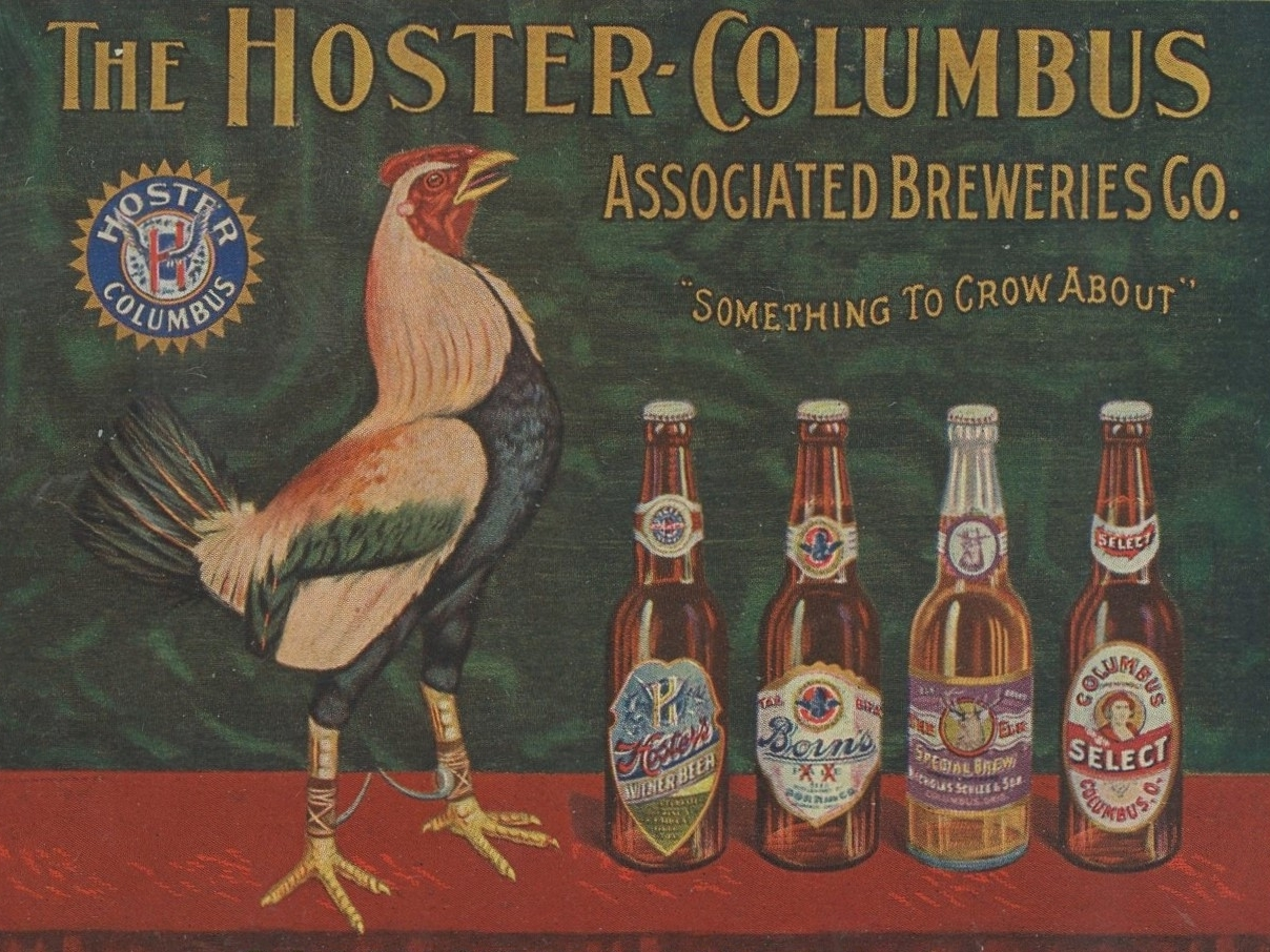 An ad for Hoster beer from the early part of the 20th century.