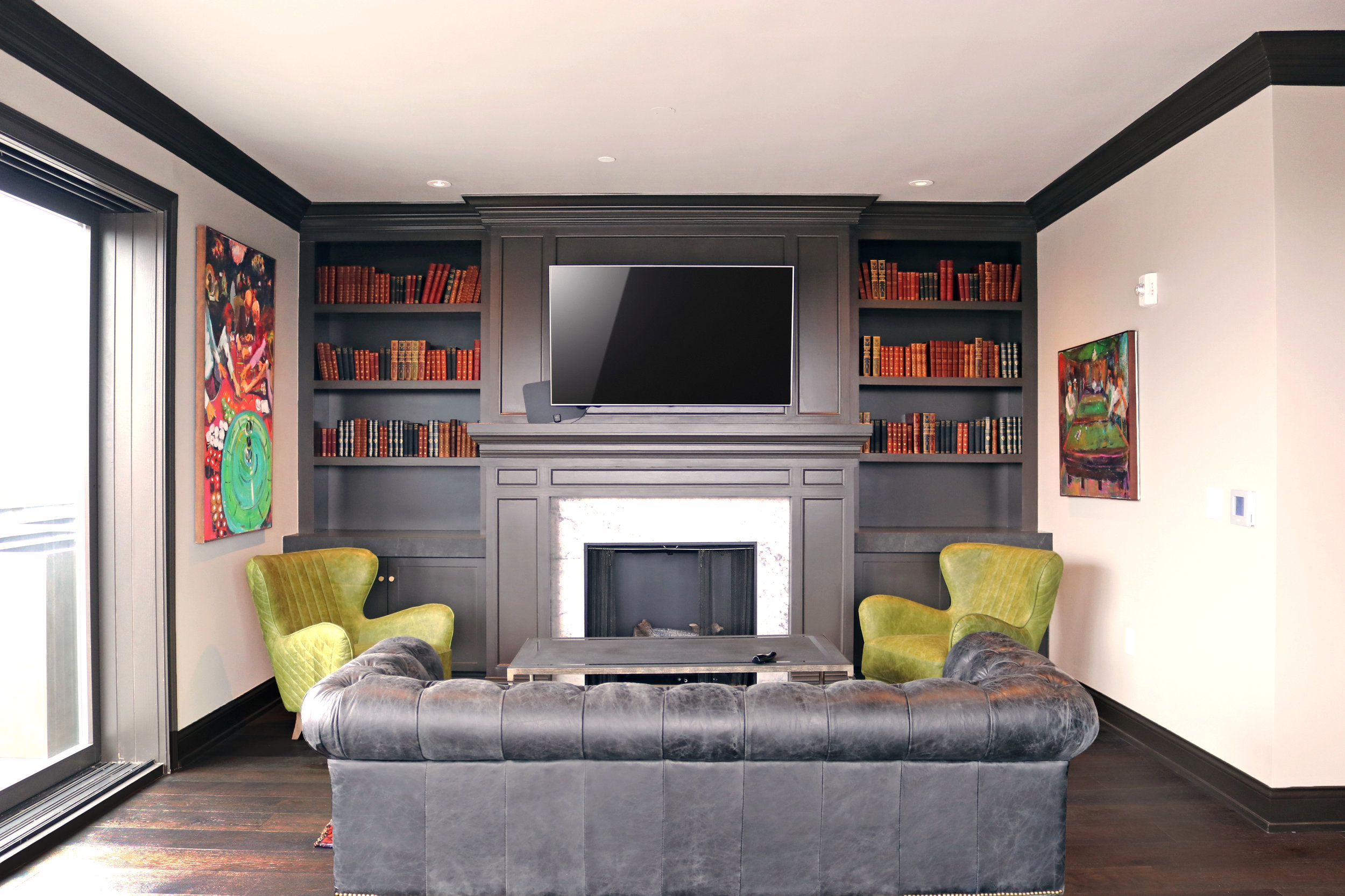 Brunner Building Apartment Common Area Rooftop Lounge - Schooley Caldwell.jpg