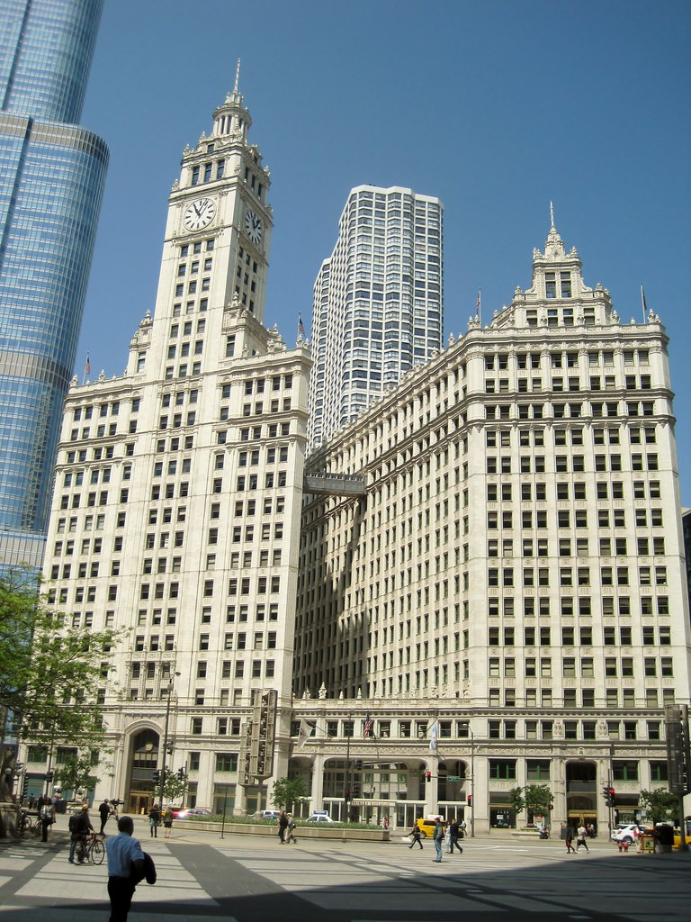 Wrigley Building, Chicago, IL