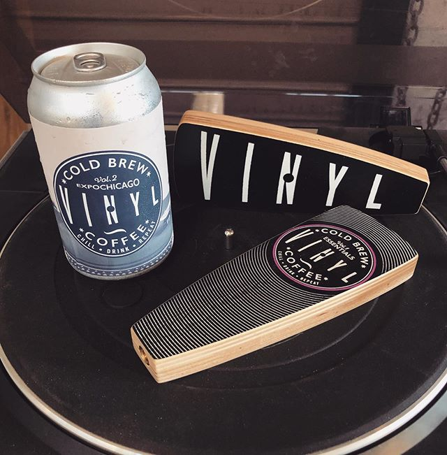 Now Spinning: @drinkvinylcoldbrew handles. Our friends at @boomboxbeverage reached out about creating these and we couldn't be more stoked at the outcome.