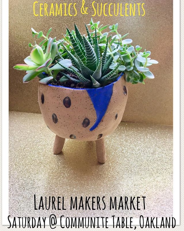 12 - 4:30pm 4171 MacArthur Blvd. See @laurelmakersmarket to see the other 23 artists and info✨