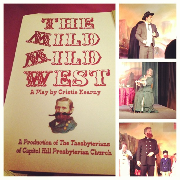 A steam punk flavored comedy loosely based on the old 60's TV show, the Wild, Wild West.