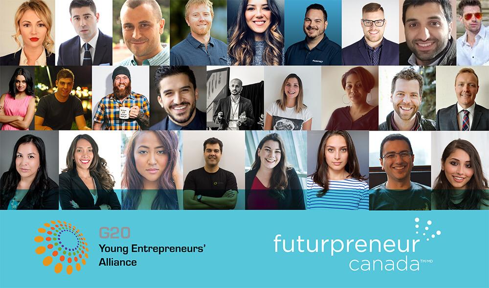 G20 Canadian young entrepreneur's alliance delagation