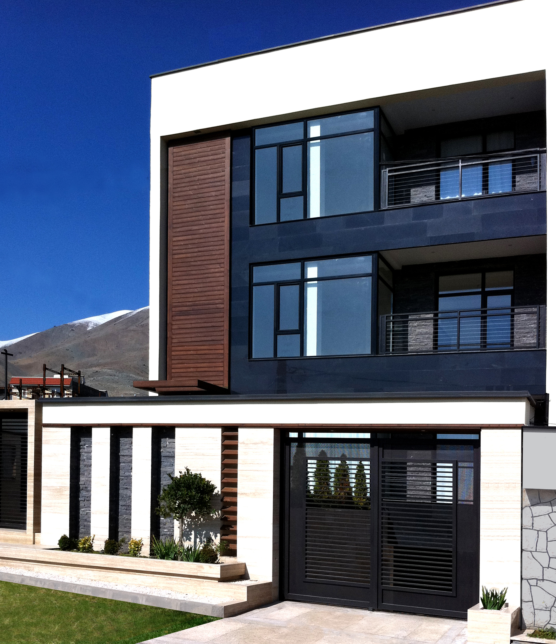 NEW CONSTRUCTION - SEMI-DETACHED MULTI-FAMILY RESIDENTIAL DESIGN  SCOPE OF WORK: PRELIMINARY DESIGN, DESIGN DEVELOPMENT, CONSTRUCTION DOCUMENTS, CONSTRUCTION ADMINISTRATION, LIGHTING DESIGN, FINISH AND FIXTURE SELECTIONS AND CUSTOM METAL/MILLWORK DESIGN