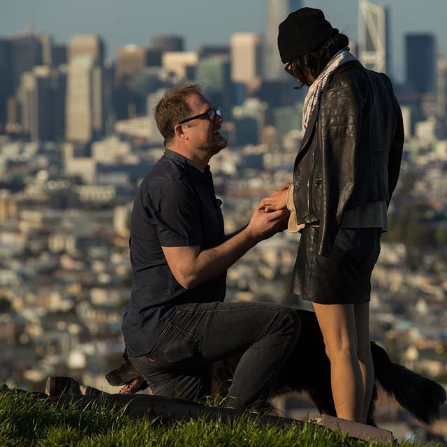 Here are a few Sneak Peek's from Rory and Monica's proposal yesterday at #bernalheightspark 😍
