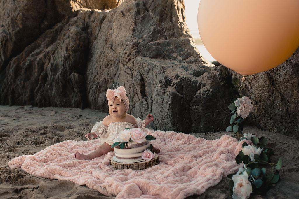 """Cleo's 1st Cake """"Smash"""" in Malibu 2019 -"""