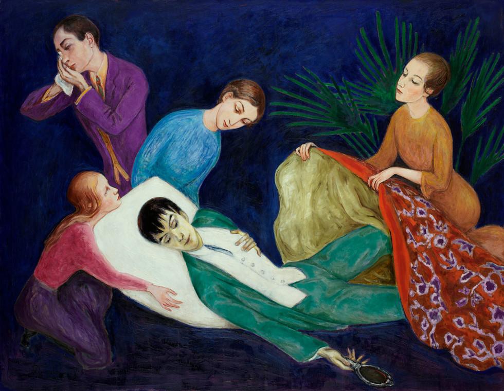 Nils Dardel, Den döende Dandyn (1918)