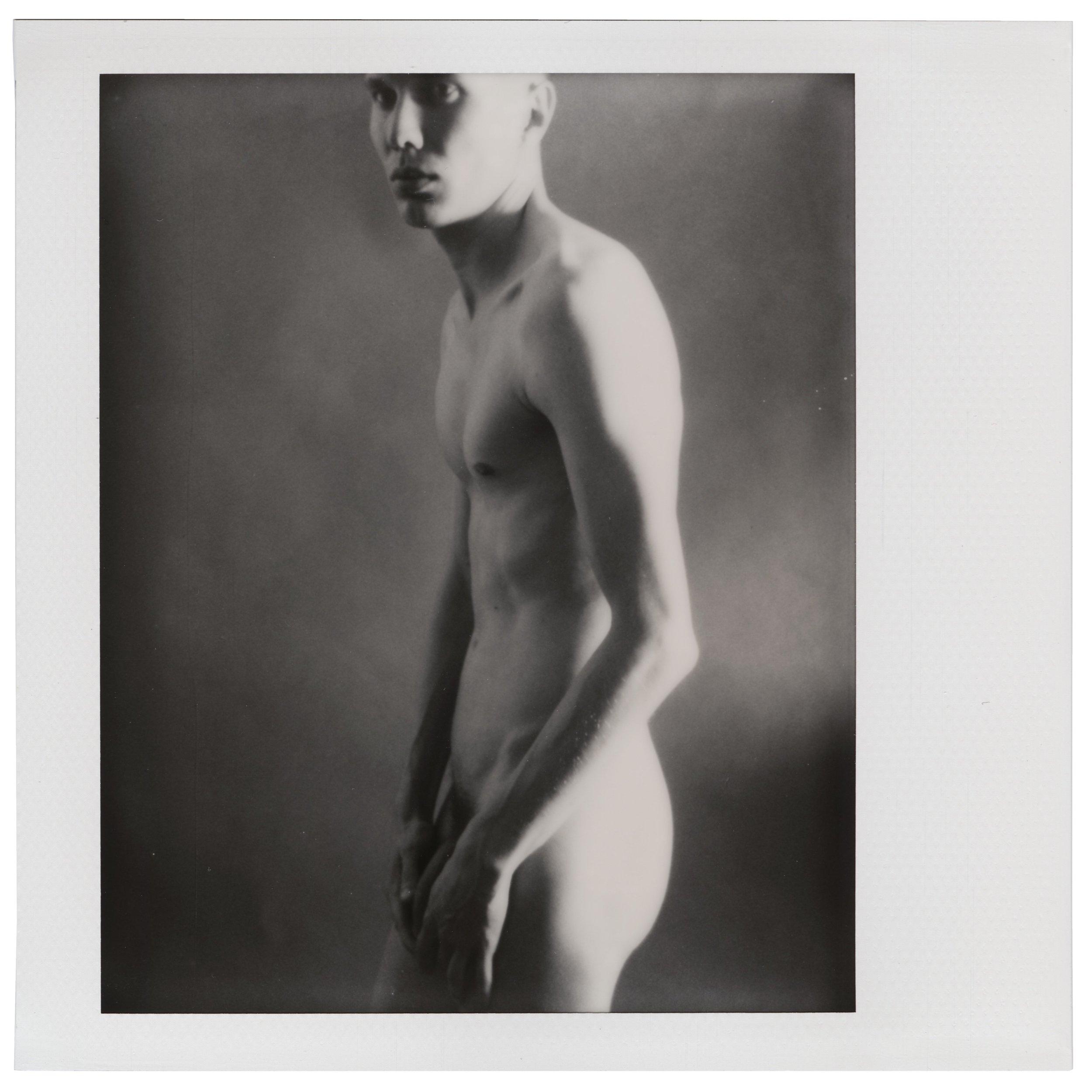 Self-portrait, June 3 2018 (Polaroid Spectra, Polaroid Originals) Thobias Malmberg