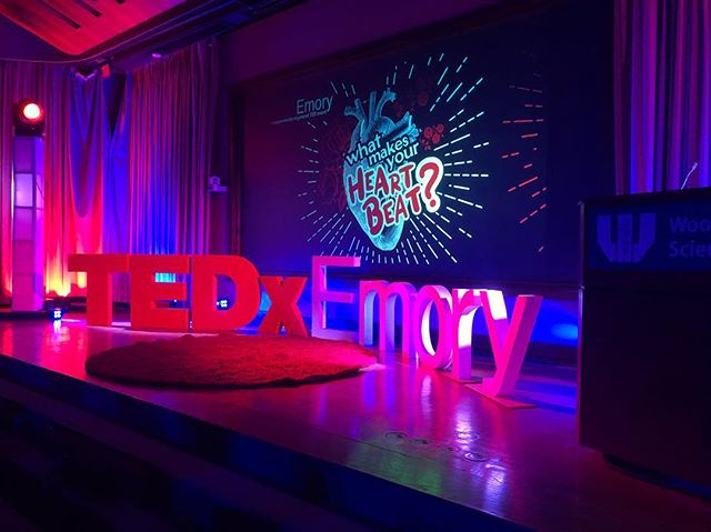 Nearing the end of our event! We hope you have it enjoyed it as much as we have. #whatmakesyourheartbeat? #tedxemory