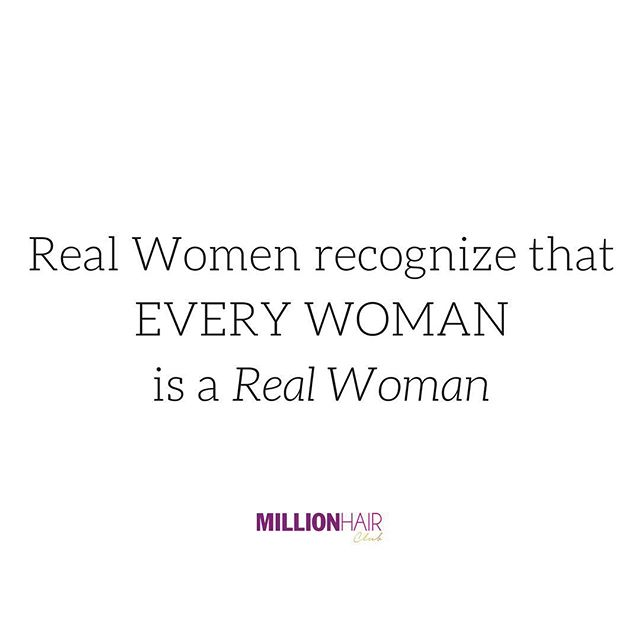 Real women don't label themselves to elevate themselves over other women. All women are real women and the more we learn to work with one another, and become allies the more we can accomplish together. 🙌🏼 #internationalwomensday #millionhairclub