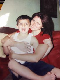 Jen with her son, Nico