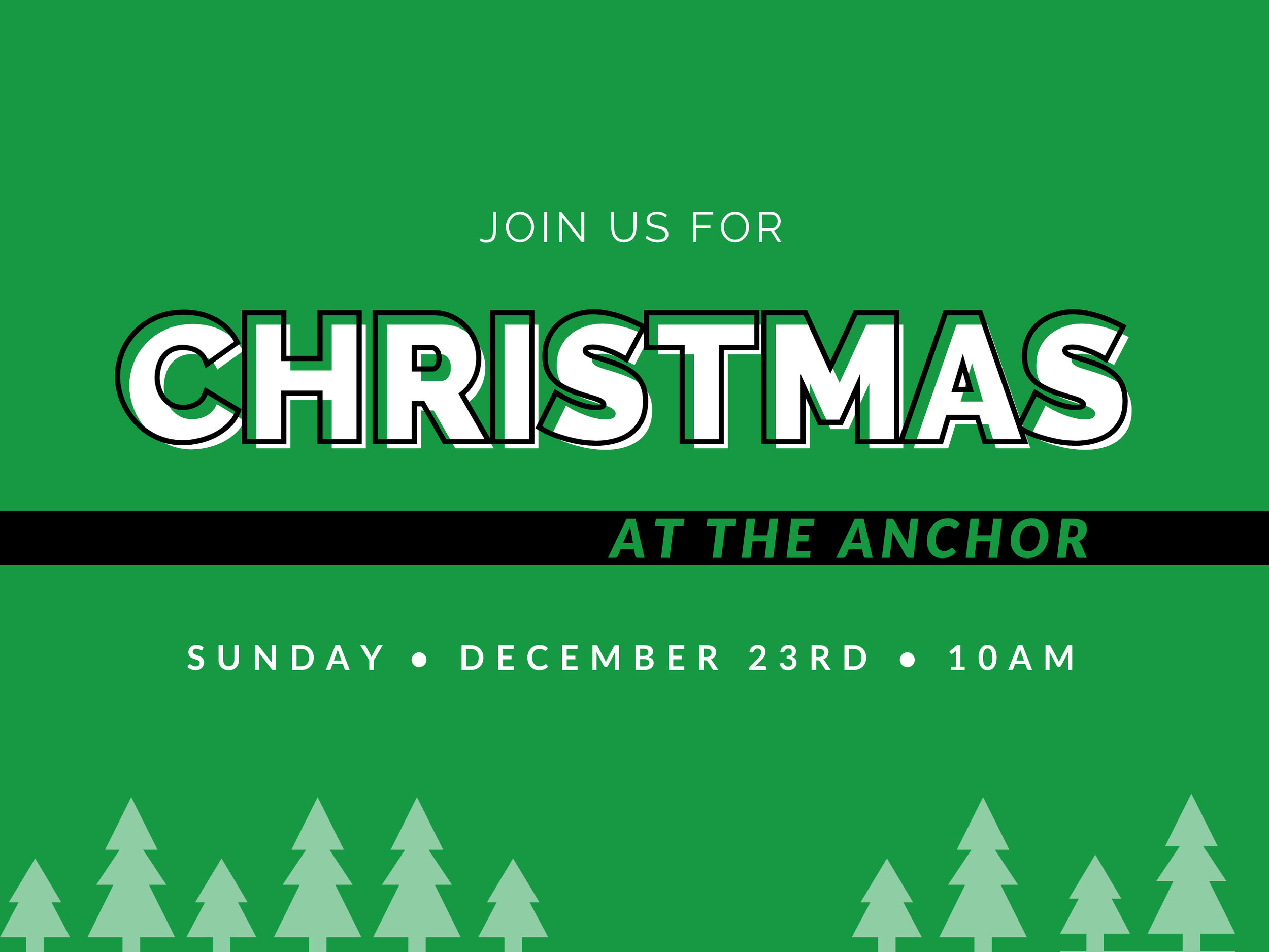 Christmas at The Anchor Church