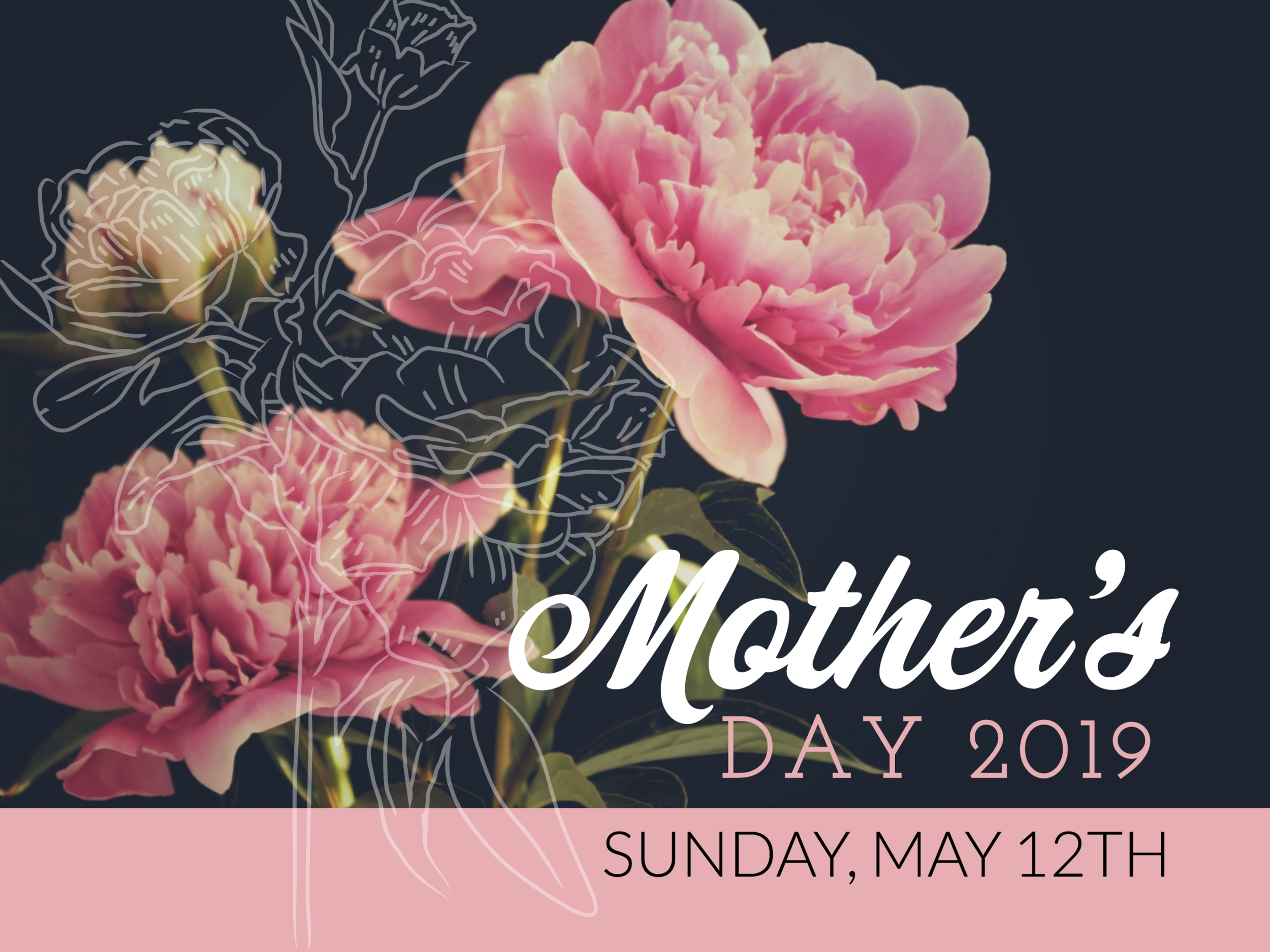 Mother's Day Sunday May 12 2019