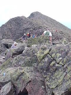 Knife Edge at Mount Katahdin