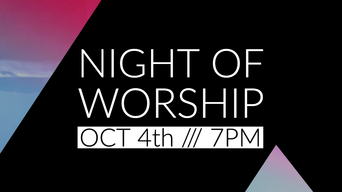 Anchor Night of Worship October 4 in Rockport Maine