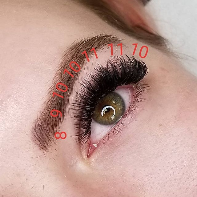 My favorite lash map using. 07 C and D curl.  #eyelashextensions #cincinnatieyelashextensions #cincinnatilashes #cincinnatilashartist #lashartist #lashtraining #daytonlashes #russianvolume #russianvolumelashes #handmadefans #handmadevolumefans #lashboss #kimkletmedoyourlashes #daytonlashtraining #cincinnatilashtraining #lashmapping #lashmap
