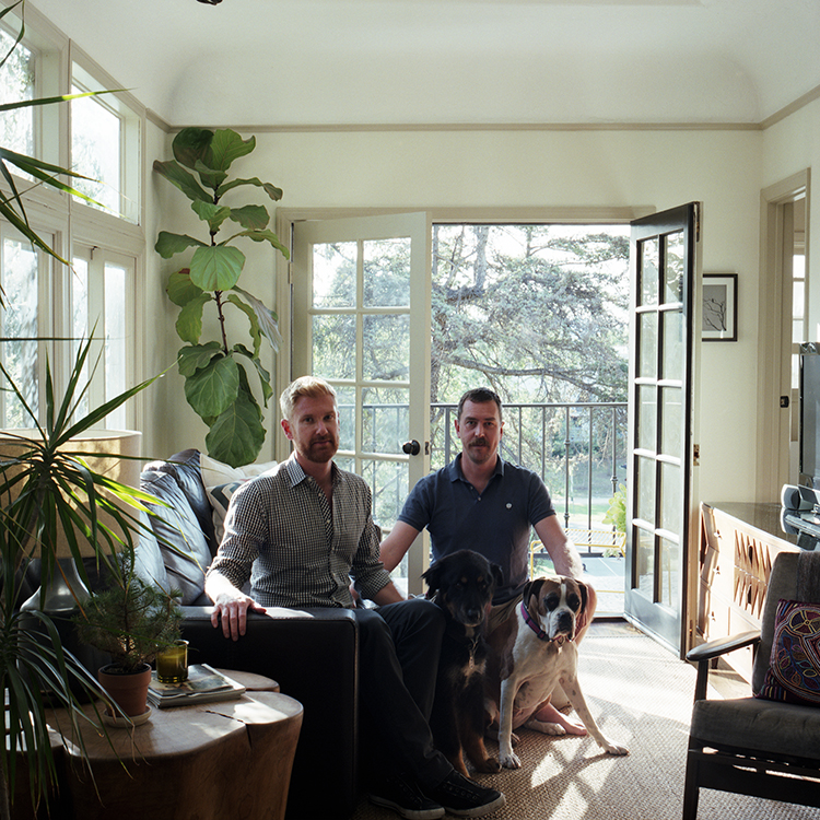 Colin Dusenbury + Thaddeus Herrick, Los Angeles, California