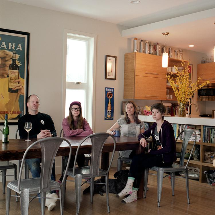 Nicole Kanner, Josh, Emily + Lucy Childs, Somerville, Massachusetts