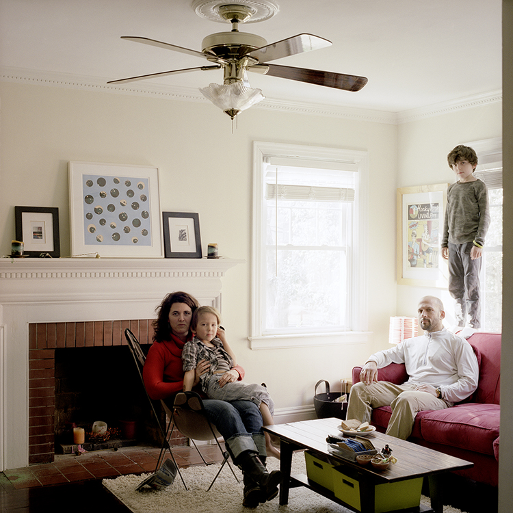 Tania Allen, Todd, Owen + Calvin Berger, Raleigh, North Carolina