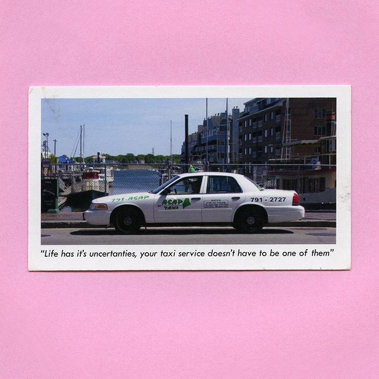 Travel Ephemera Still Life 854, Receipt (ASAP Taxi), Portland, ME