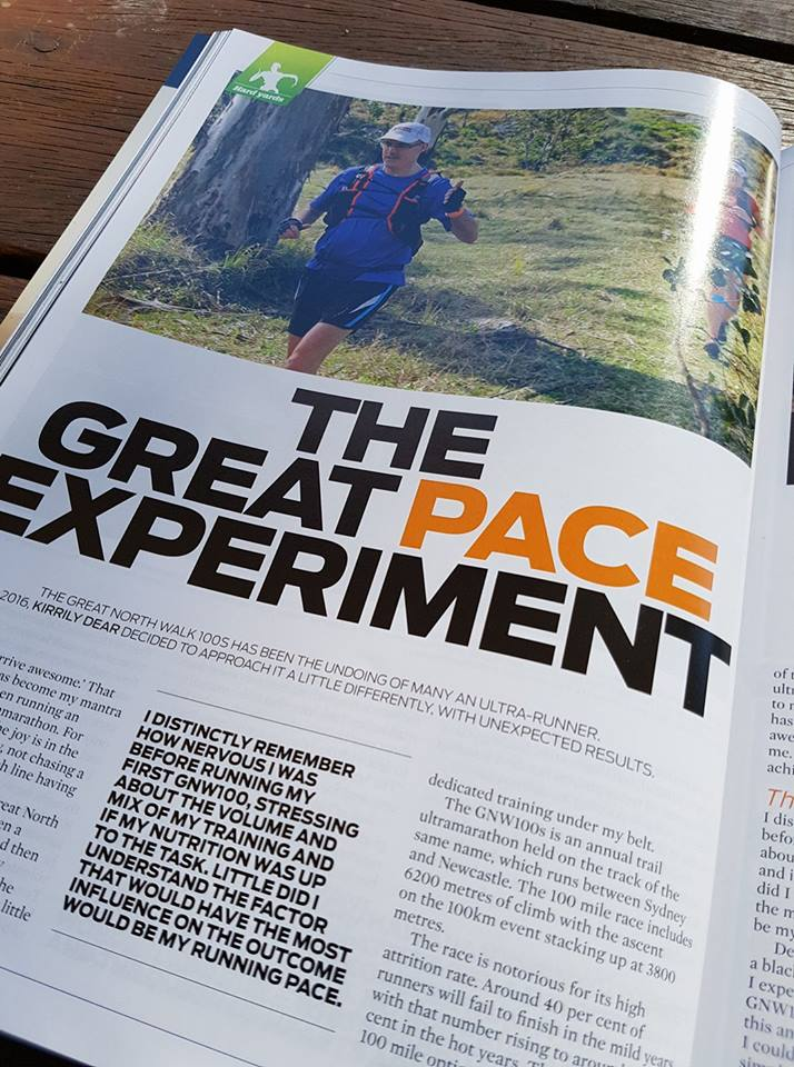 Sharing what I have learned with the Australian running community