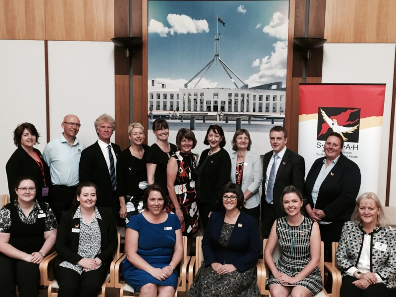 2015 Canberra Summit with board and members of the SARRAH Advisory Council