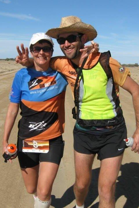 Ultra marathon Racing