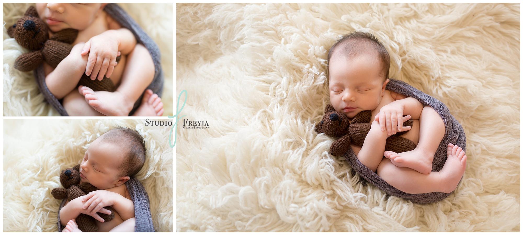 Image Collage by San Diego Newborn Photographer