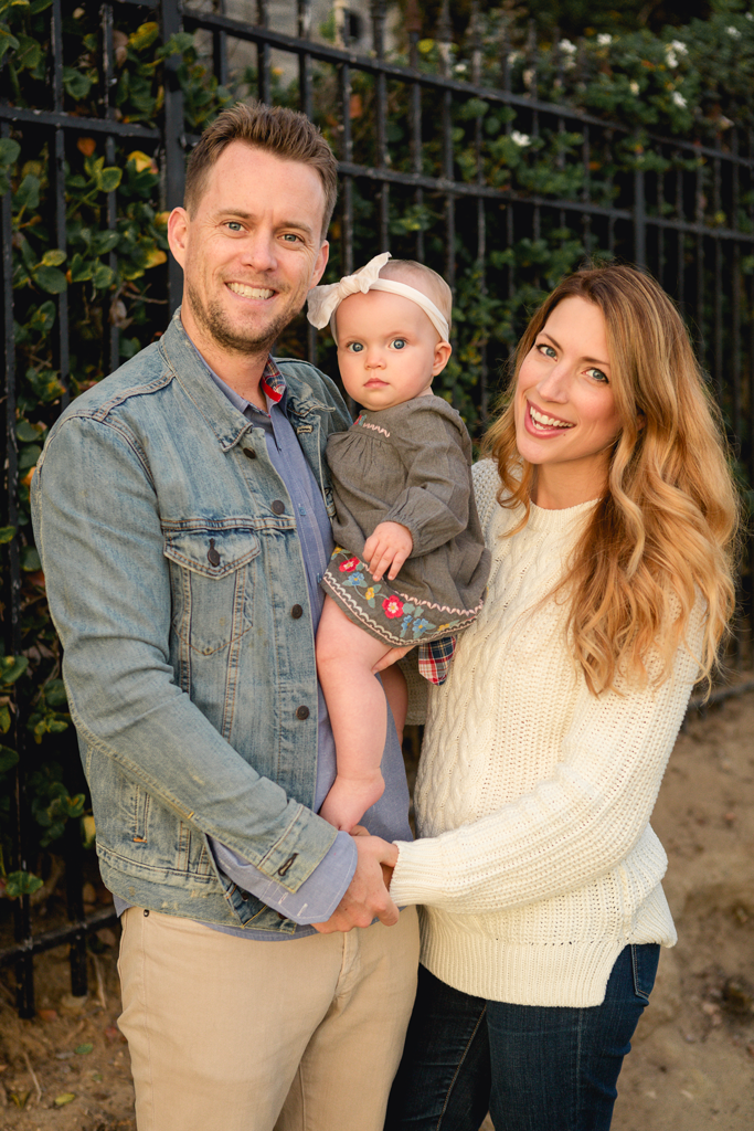 Family Pictures in La Jolla by San Diego Newborn Photographer