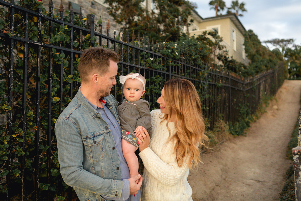Family Pictures in La Jolla by San Diego Infant Photographer