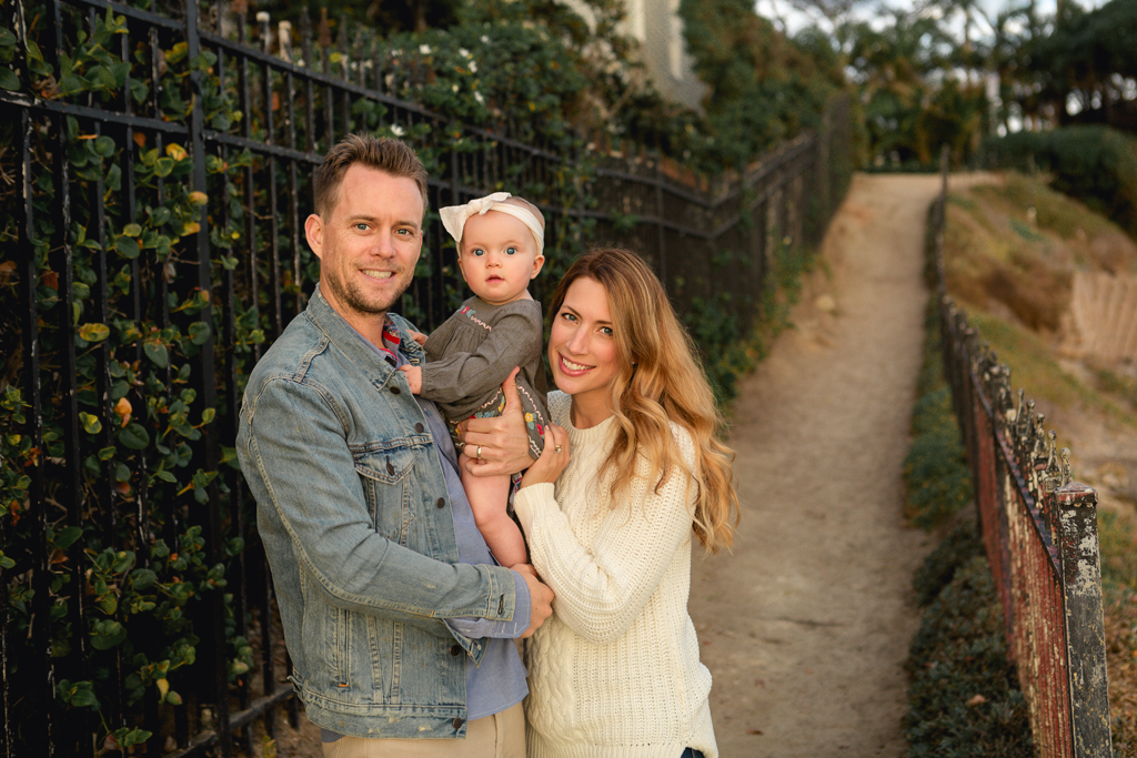Family Pictures in La Jolla by San Diego Baby Photographer