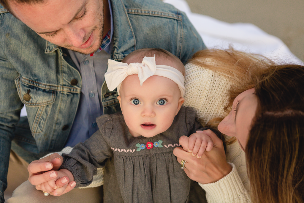 Milestone Pictures in La Jolla by San Diego Infant Photographer