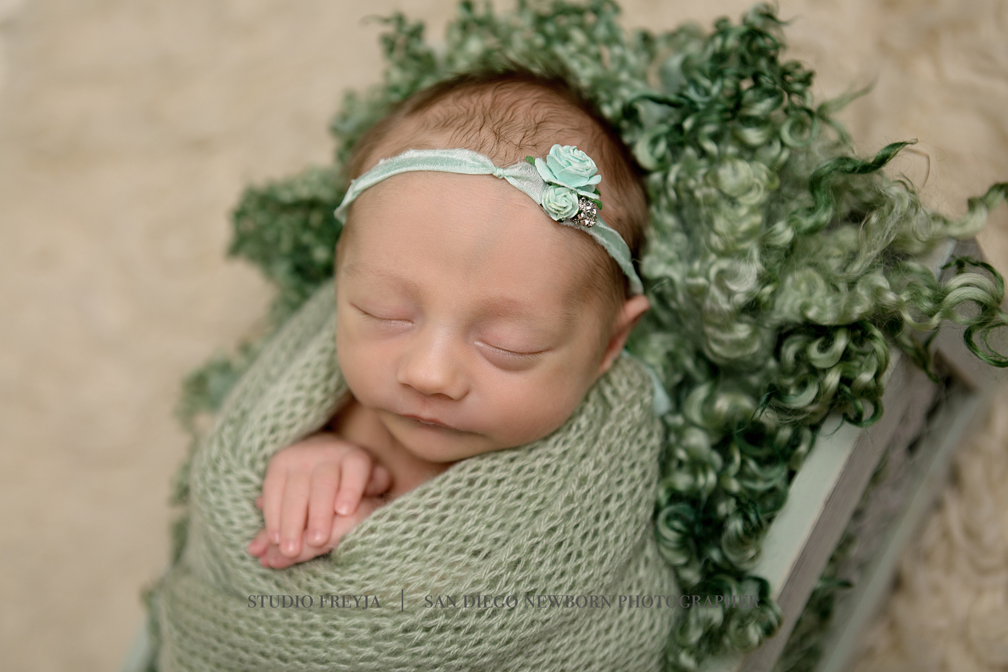 San Diego Newborn Portrait Photography Session