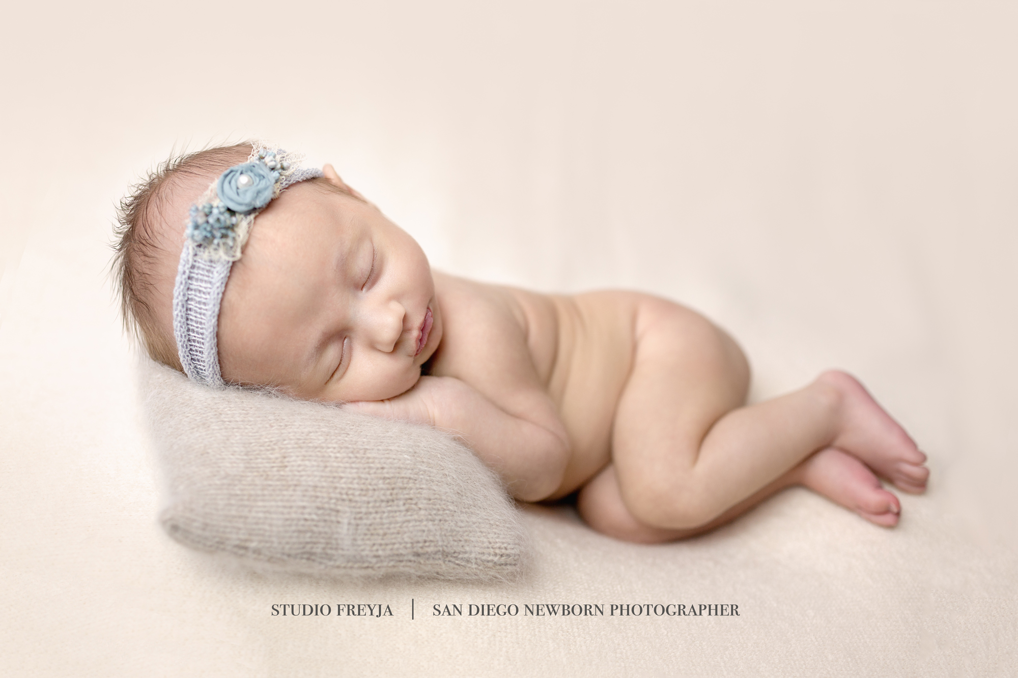 Newborn Baby Girl Portrait Session