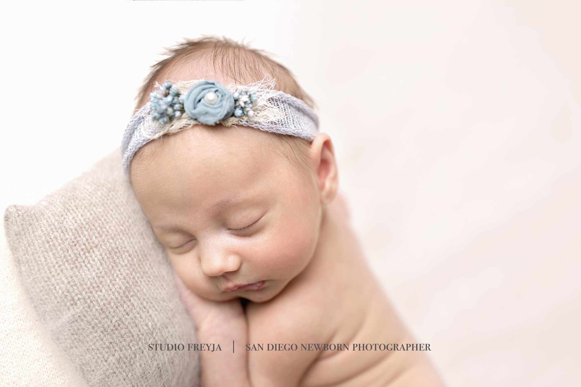 Newborn Baby Girl Portrait Pictures