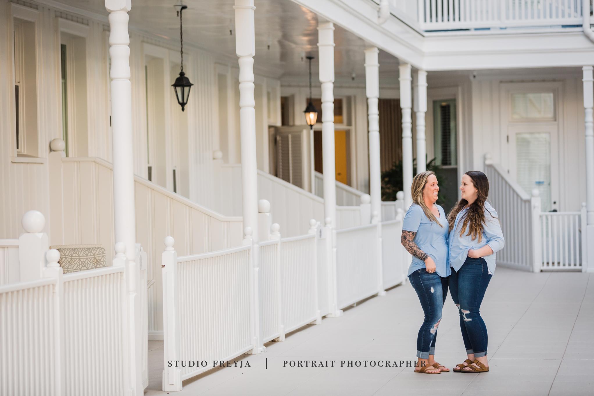 Hotel Del Coronado Family Portrait Photography