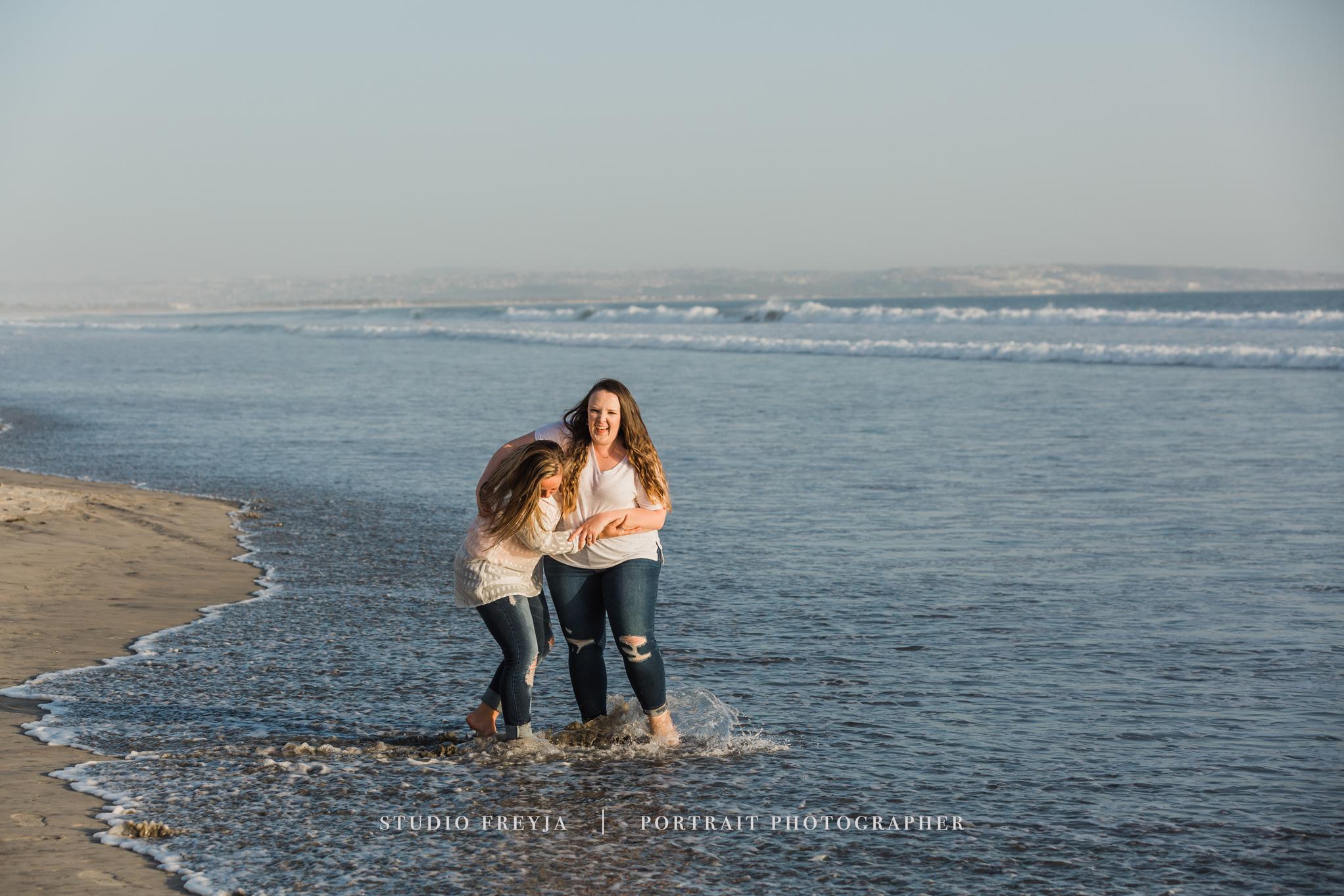 Hotel Del Coronado Beach Family Photography