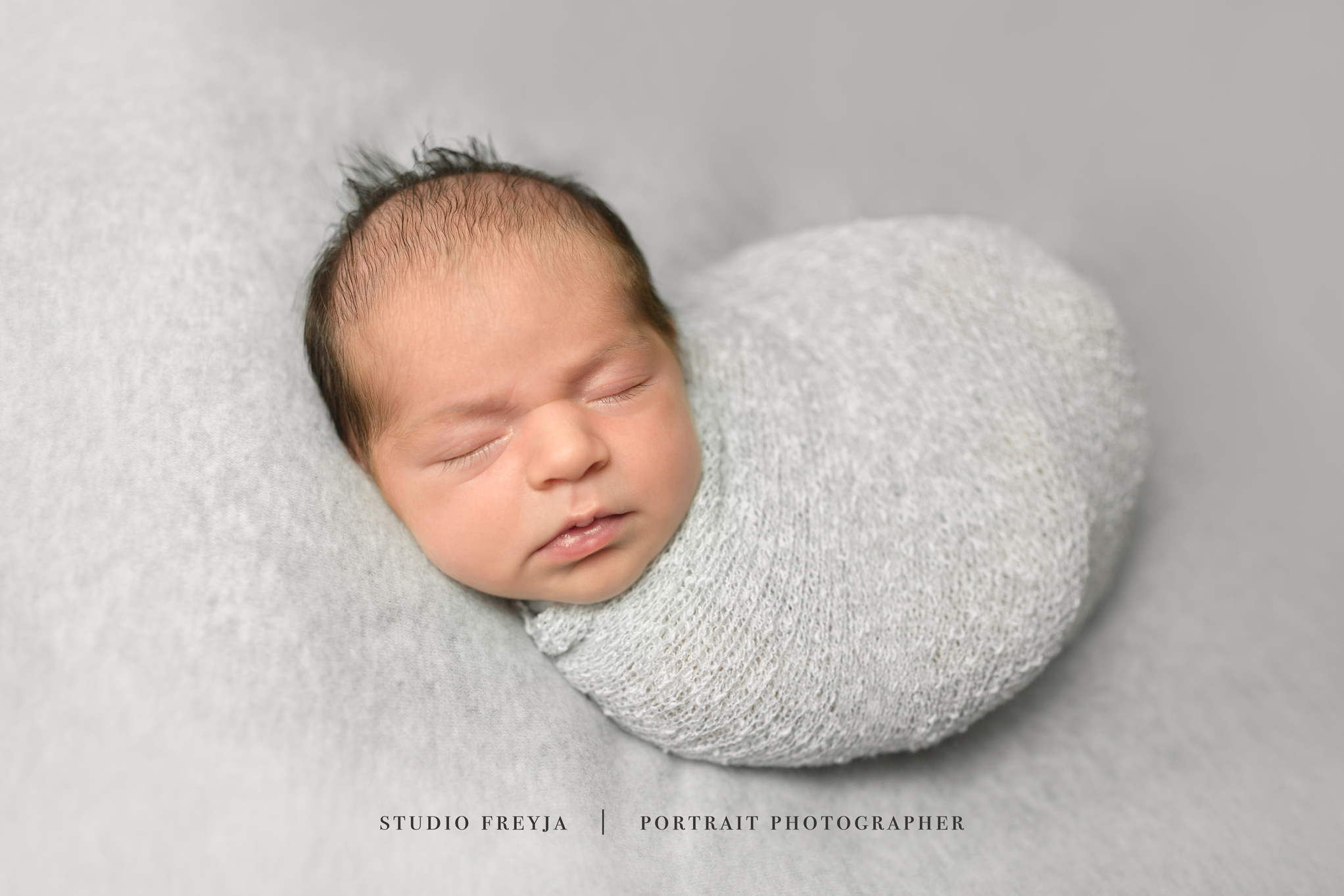 Gray Newborn Session San Diego Newborn Pictures