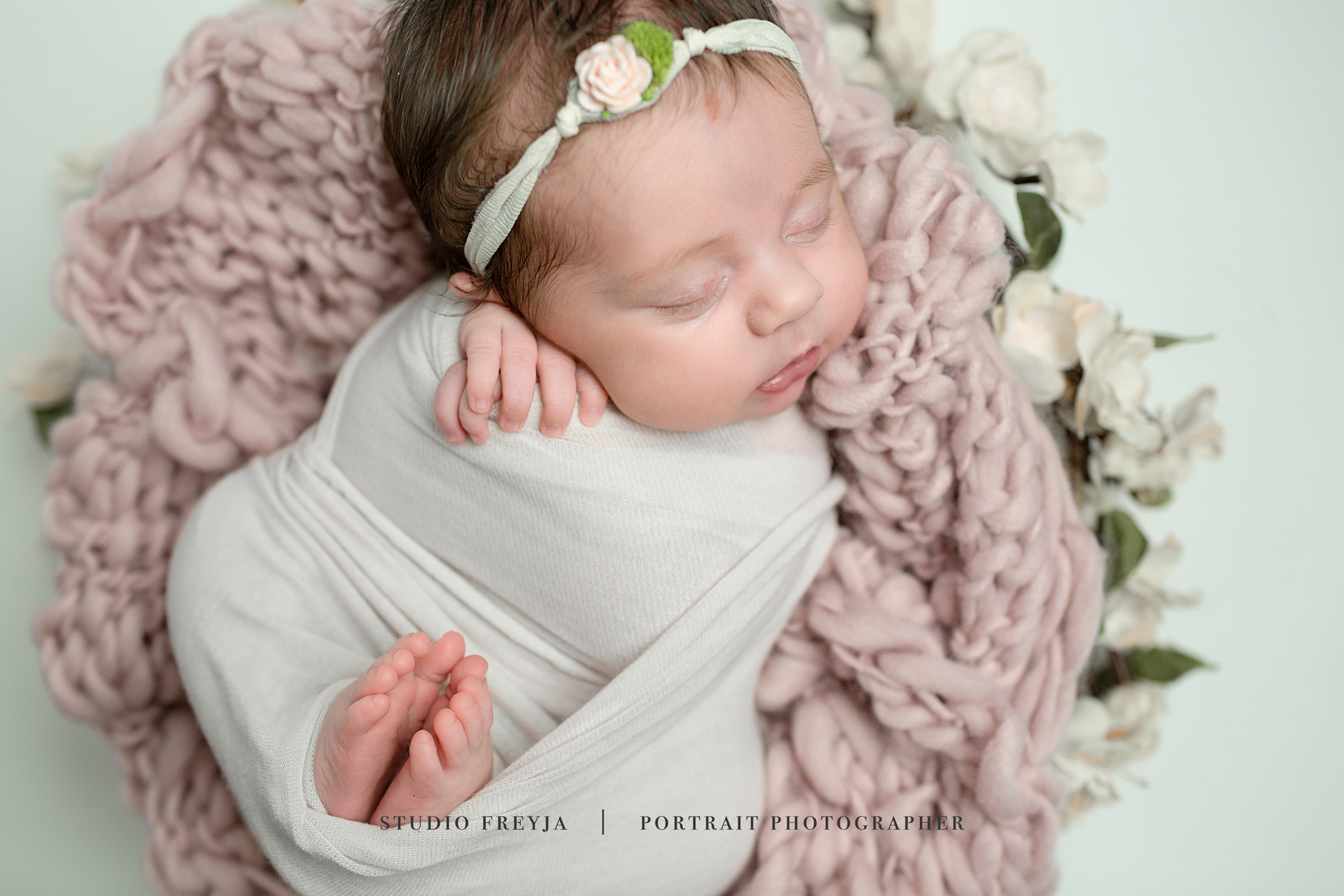 Close up of Newborn Pictures San Diego