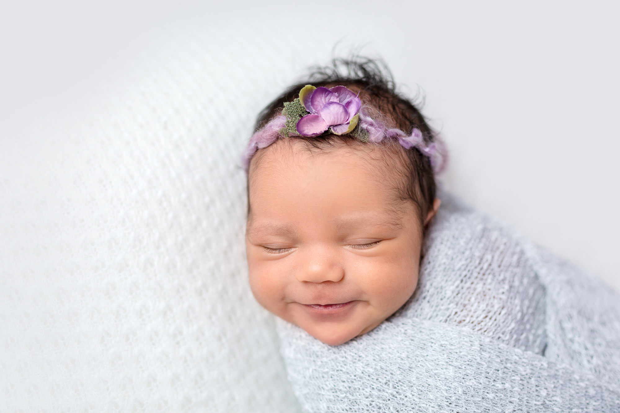 Extensive newborn photography education and training has taught me how to properly care for and position newborn babies and my newborn pictures are now so much more professional and better looking.