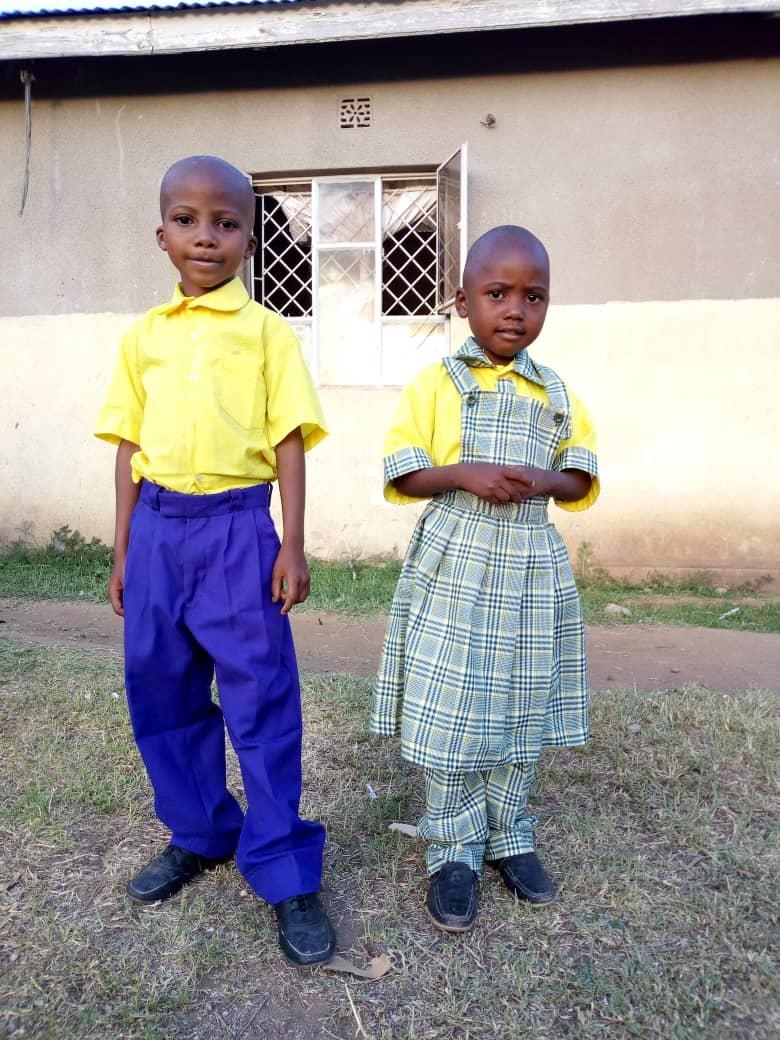 Brother and Sister Baraka & Lulu