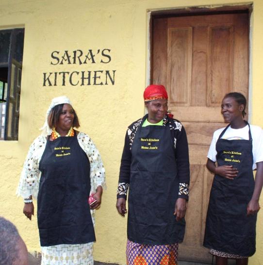 Mama Jane & the cooks