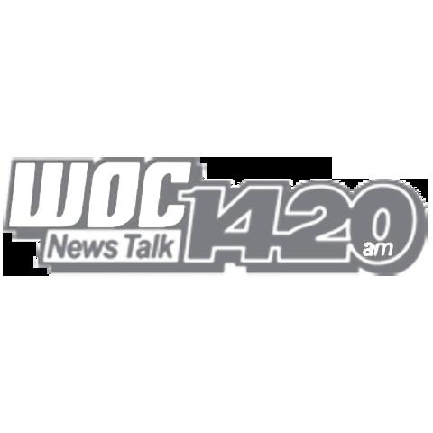 WOC 1420 logo Welcome to Health Radio