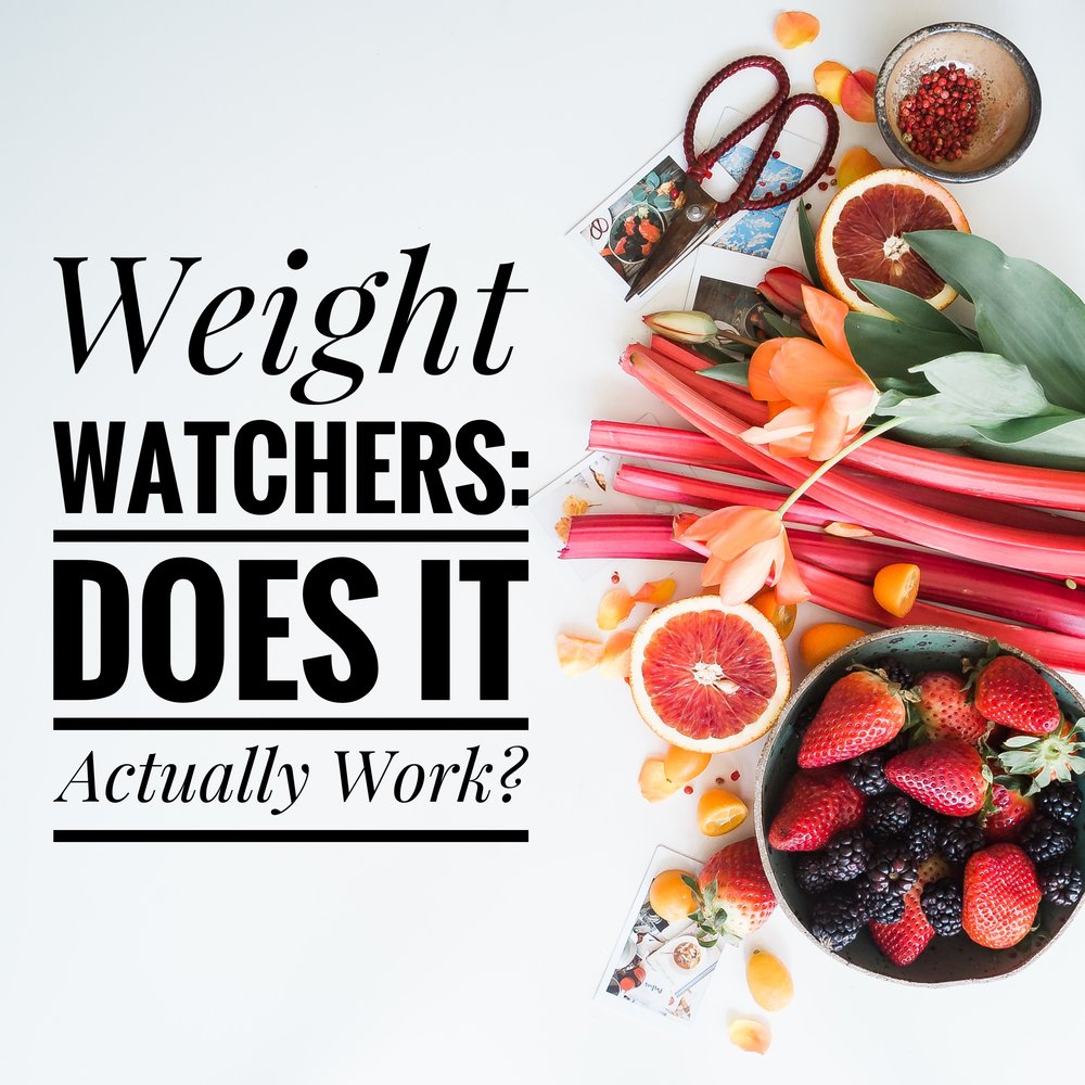how do you do the weight watchers diet