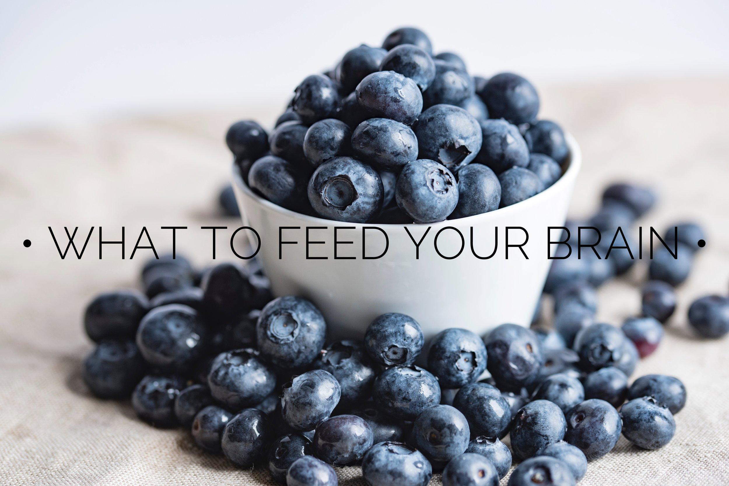 What to Feed Your Brain // CarolynWilliamsRD.com
